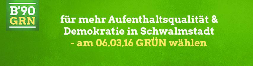 Kommunalwahlen 2016 - Grün wählen!